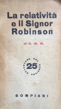 La relatività e il signor Robinson.